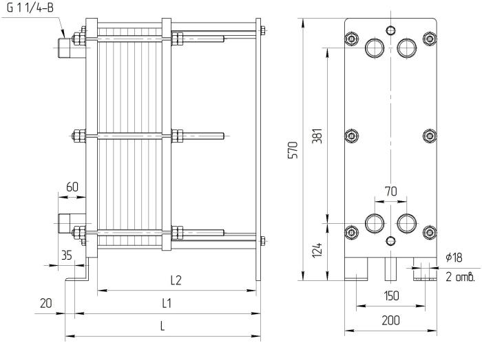 Пластинчатый теплообменник ридан нн 04 ду 32 теплообменник gx 42