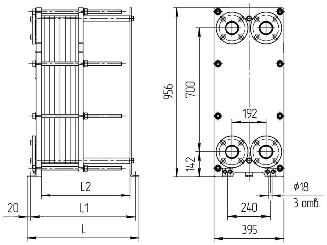 Теплообменник ридан нн 19а технические характеристики Паяный теплообменник KAORI H205 Ноябрьск